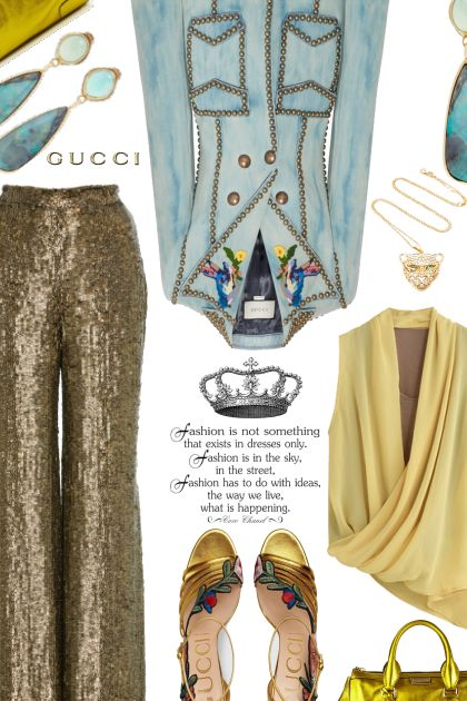 Gucci Jacket & Shoes