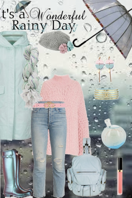 Rain is better with pastel colors