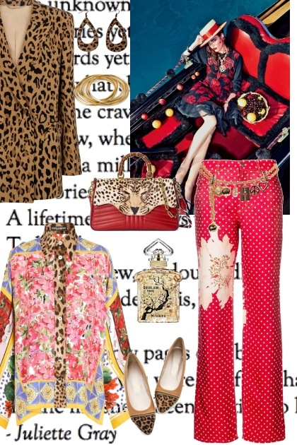 LEOPARD WITH MIX AND MATCH