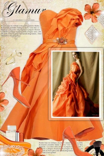 Glamour a l'orange