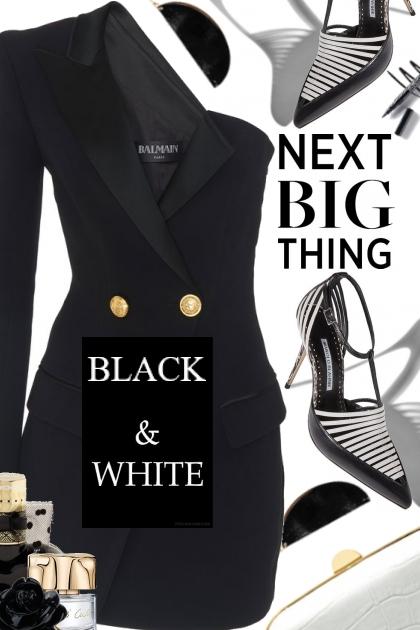 THE NEXT BIG THING....BLAZER DRESS