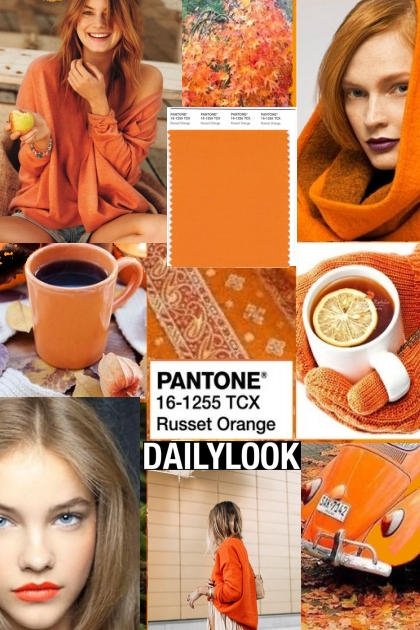 PANTONE COLOR * RUSSET ORANGE