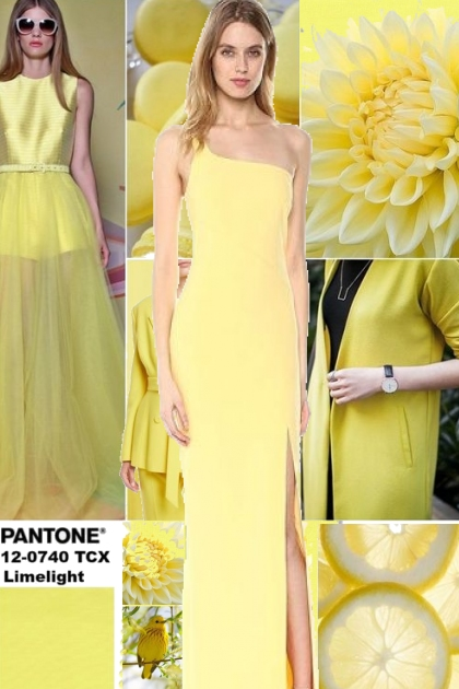 PANTONE Color of the Year 2018-19 * Limelight