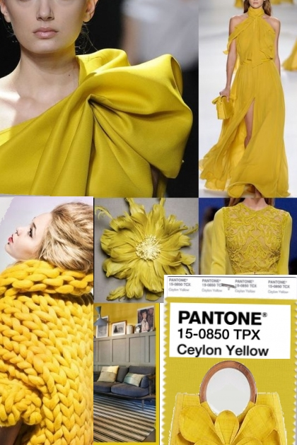 PANTONE CEYLON YELLOW * 2018-19