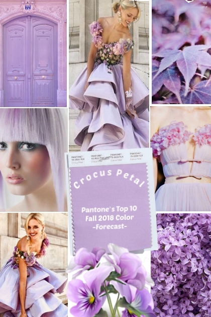 Crocus Petal PANTONE'S Top 10 Color