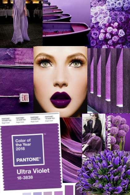 PANTONE Color of the Year 2018-19 *Ultra Violet