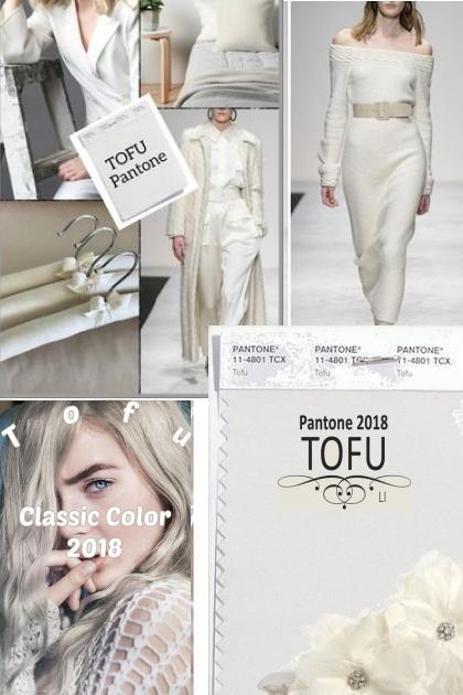PANTONE 2018 Classic Color Tofu