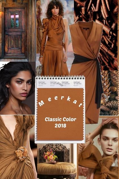 Pantone Classic Color 2018 * Meerkat