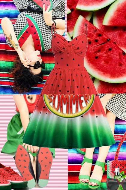 The Watermelon Girl