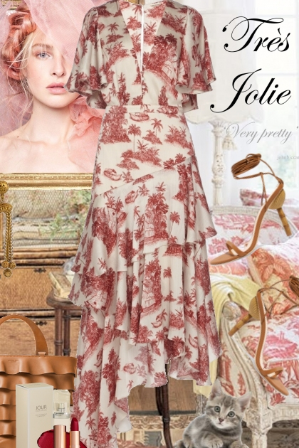 "French Toile is ""Tres Jolie"""