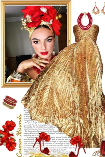 Carmen Miranda- Fashion set