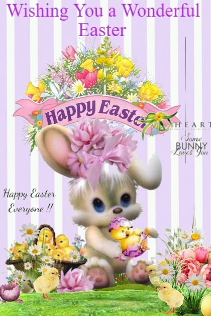 Wishing You a Wonderful Easter