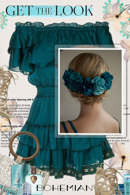 Get The Look In Teal