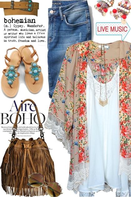 Aire Boho- Combinazione di moda