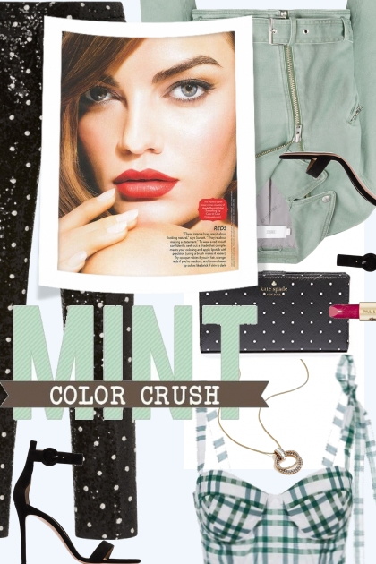 MINT COLOR CRUSH- Combinaciónde moda