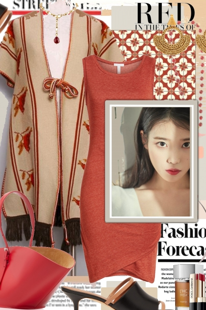 Red....Fashion Forecast