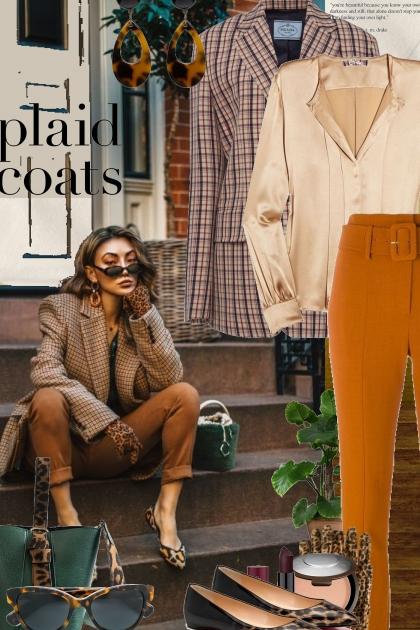 Fall Plaid Coats