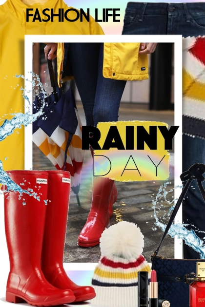 Rainy Day Fashion- Fashion set