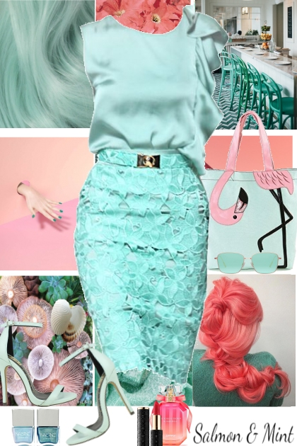 Mint and Salmon