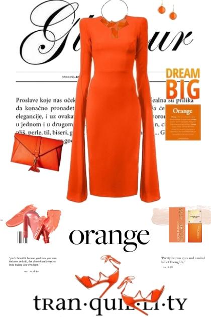 Orange Tranquility
