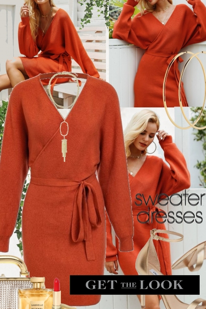 Sweater Dresses * Get The look