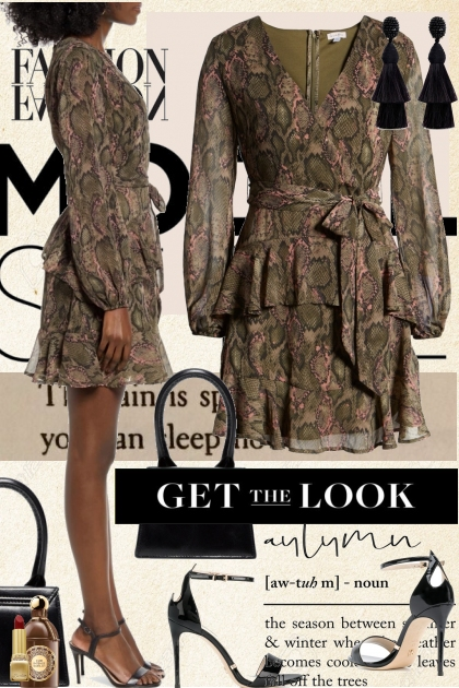 Get The Look* Autumn Dress
