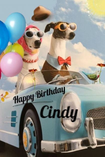 Happy Birthday Cindy