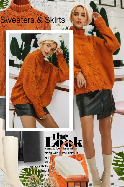 The Look * Sweaters & Skirts