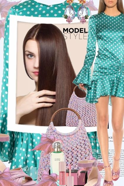 Model Style- Combinazione di moda