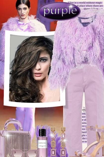 A Purple Millennial- Fashion set