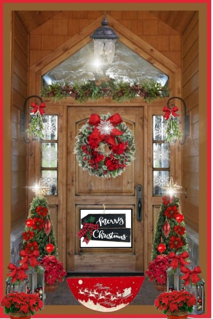 My Merry Christmas Door