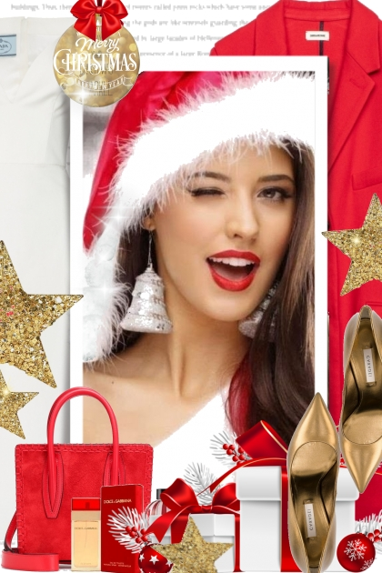 Merry Beautiful Christmas- Fashion set