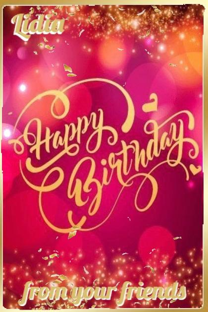 Happy Birthday Lidia