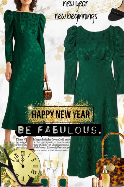 Happy New Year ...Be Fabulous
