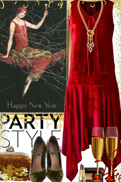 New Years Year Party Style 2020
