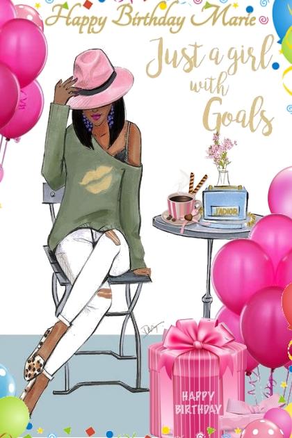 Happy Birthday Marie- Modna kombinacija
