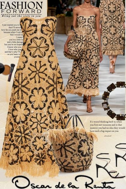 Fashion forward with Oscar de la Renta