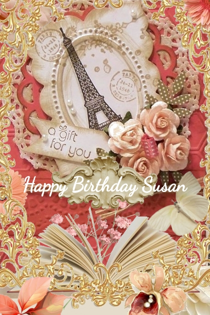 Happy Birthday Susan