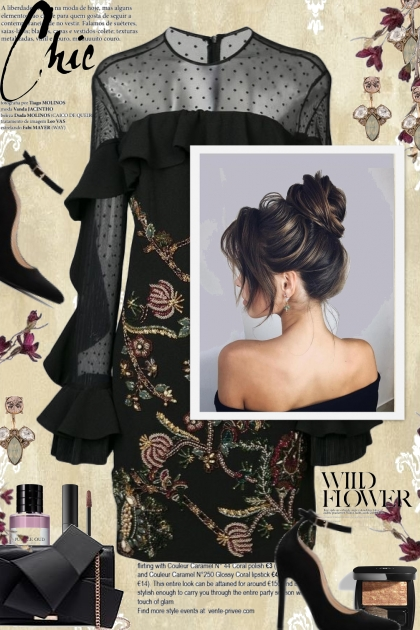 Be Chic in Dark Floral