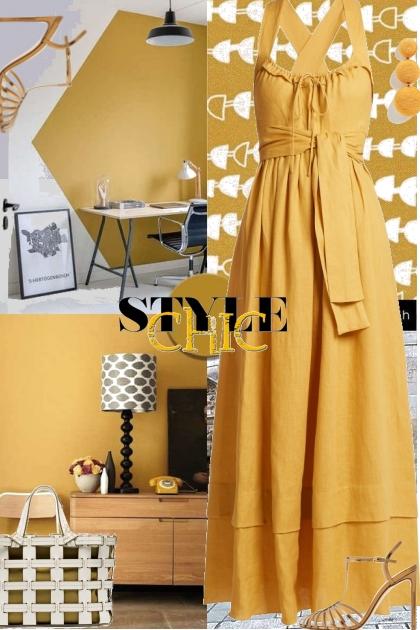 Style Chic Mustard Yellow