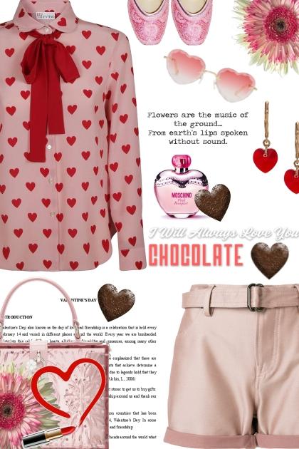 I will always love you Chocolate