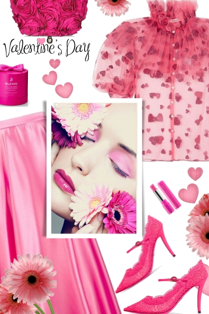 A HOT PINK VALENTINES DAY 2020