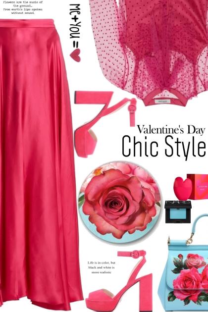 Valentines Day Chic Style- Fashion set