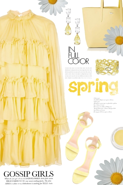 Spring in Yellow- コーディネート