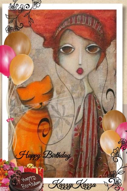 Happy Birthday KazzyKazza