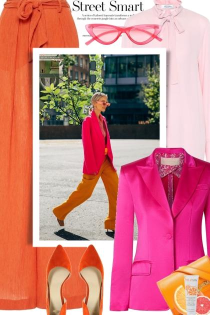 Street Smart Orange and Pink