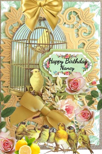 Happy Birthday Dear Nancy