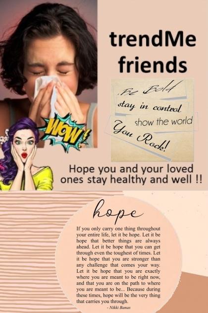 Dear trendMe Friends