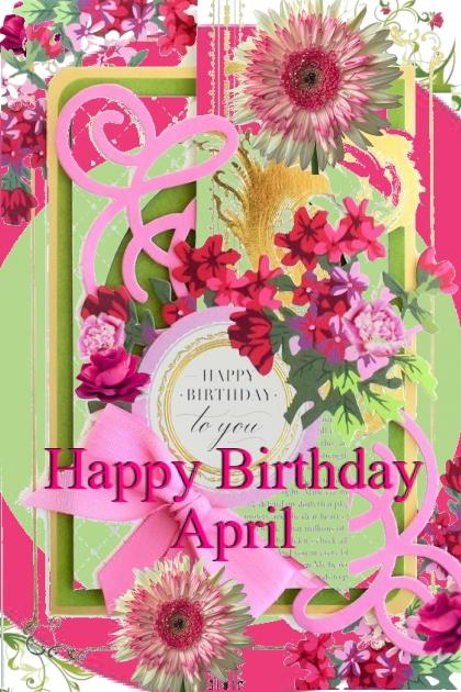 Happy Birthday April
