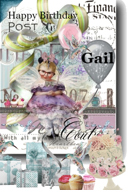 Happy Birthday Gail- Combinaciónde moda